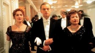 """""""Titanic"""" Kate Winslet, Leonardo DiCaprio, Kathy Bates"""