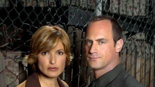 """Law & Order: SVU"": Mariska Hargitay und Christopher Meloni"