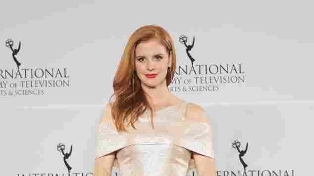 Sarah Rafferty bei den 44. Emmy Awards am 21. November 2016