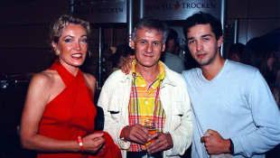Lisa Riecken mit Frank-Thomas Mende und Andreas Elsholz
