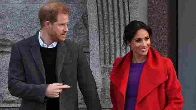 Prinz Harry und Herzogin Meghan in Birkenhead 2019