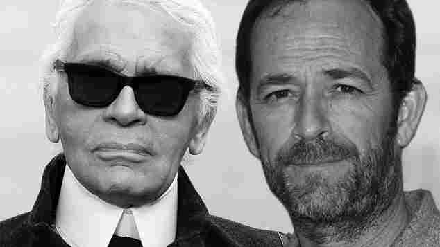 Karl Lagerfeld Luke Perry gestorben 2019