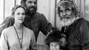 Katherine Cannon, Merlin Olsen, Shannen Doherty und Jack Elam