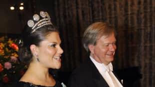 Prinzessin Victoria und Prof. Brian P. Schmidt