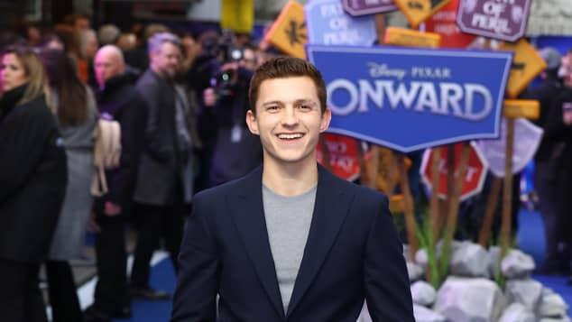Tom Holland Premiere Onward London