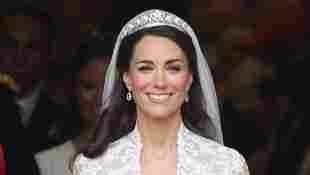 Herzogin Kate an dem Tag ihrer Hochzeit mit Prinz William am 29. April 2011