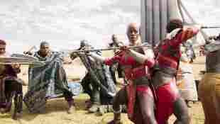"""Florence Kasumba im Marvel-Film """"Black Panther"""" 2018"""