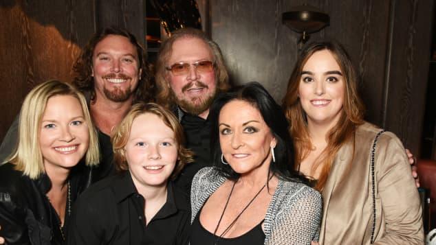 Barry Gibb und Familie