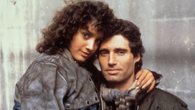 Jennifer Beals und Michael Nouri