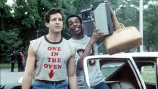 Michael Winslow und Steve Guttenberg