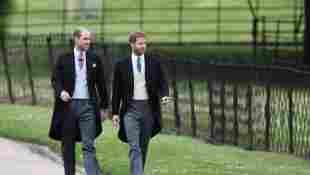 Prinz William und Prinz Harry bei der Hochzeit von Pippa Middleton