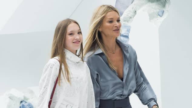 Lila Grace Moss Hack und Kate Moss