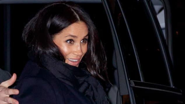 Herzogin Meghan ist für ihre Baby-Party in New York