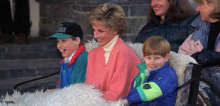 Lady Diana Prinz William Prinz Harry