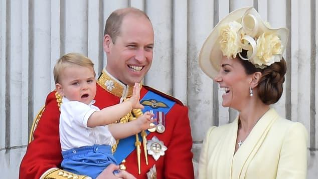 Prinz William, Herzogin Kate und ihre drei Kinder