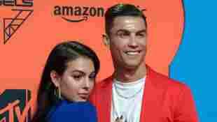 Georgina Rodriguez und Cristiano Ronaldo bei den MTV Europe Music Awards am 3. November 2019