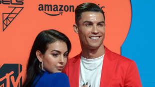 Georgina Rodriguez und Cristiano Ronaldo