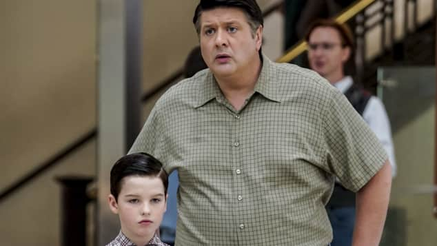 Young Sheldon Vater