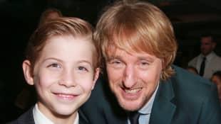 Jacob Tremblay und Owen Wilson