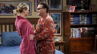 """The Big Bang Theory"": ""Penny"" und ""Leonard"""