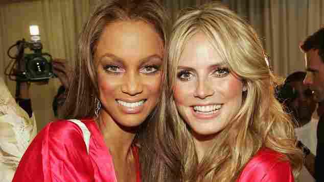 Tyra Banks und Heidi Klum, Supermodels der 2000er, Supermodels früher, Topmodels früher, Topmodels der 2000er, die bekannteste Models