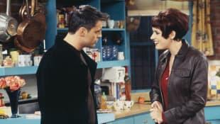 """""""Friends"""": """"Joey Tribbiani"""" und """"Kathy"""""""