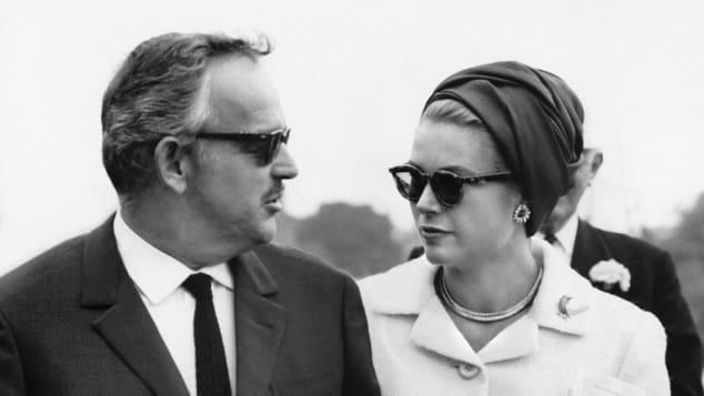Fürst Rainer und Grace Kelly