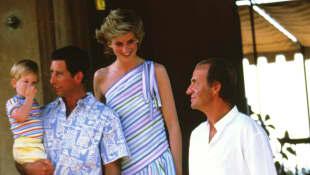 Prinz Charles, Diana,. William und Harry