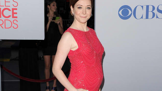 people's choice awards 2012; alyson hannigan