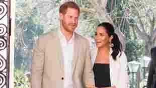Prinz Harry und Herzogin Meghan beim Besuch in Marroko