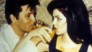 Elvis Presley und Priscilla Presley