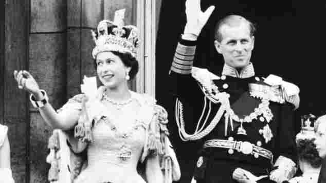 königin elisabeth II. krönung
