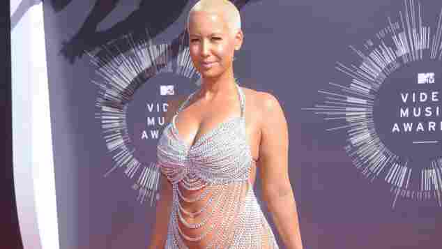 Amber Rose 2014 Outfit