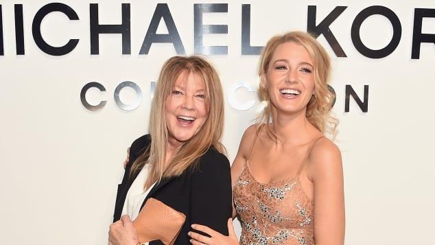 Elaine Lively und Blake Lively bei der Michael Kors Show auf der New York Fashion Week