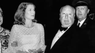 Grace Kelly und Alfred Hitchcock