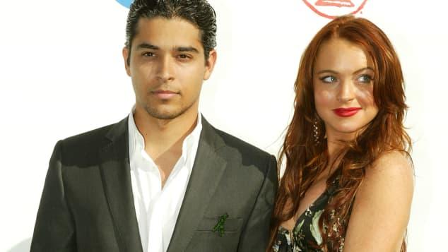 Wilmer Valderrama und Freundin Lindsay Lohan im Jahr 2004