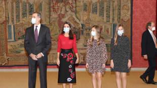 König Felipe, Königin Letizia, Prinzessin Leonor, Prinzessin Sofia