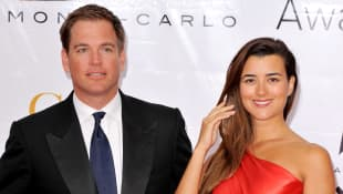 "NCIS staffel 18 Michael Weatherly (""Tony"") und Cote De Pablo (""Ziva"")"