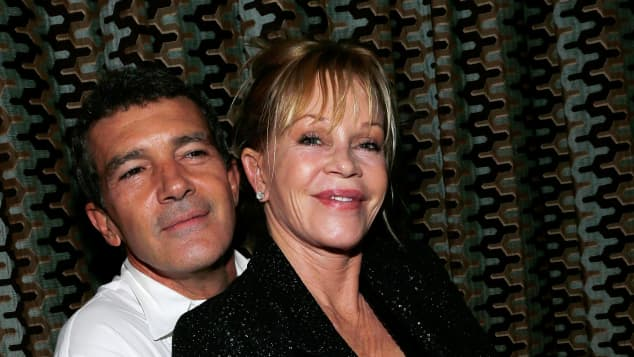 Antonio Banderas und Melanie Griffith