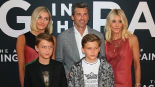 Patrick Dempsey und seine Familie
