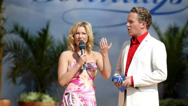 Helene Fischer und Stefan Mross im Jahr 2008