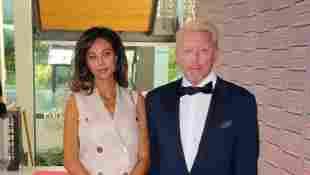 Lilly Becker und Boris Becker auf dem Roten Teppich bei der Verleihung des Deutschen Medienpreis 2016