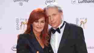 Andrea Berg und Uli Ferber bei der Bambi-Verleihung 2013