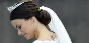 Prinzessin Sofia an ihrer Hochzeit