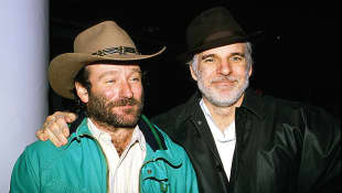 Robin Williams und Steve Martin