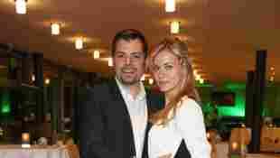 Daniel Fehlow und Jessica Ginkel beim TakeOff Award am 12. November 2016