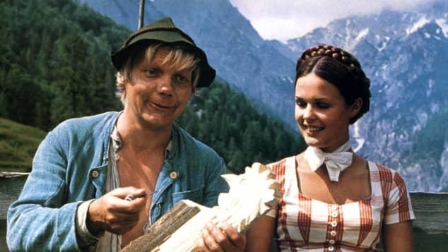 """Ute Kittelberger in """"Der Edelweißkönig"""""""
