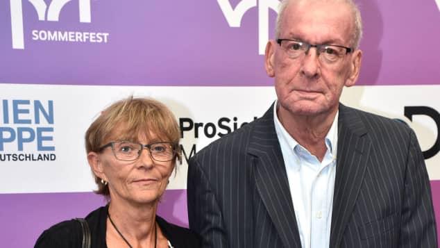 Peter Zwegat und seine Frau Liane