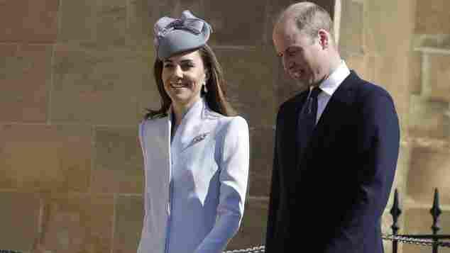Herzogin Kate und Prinz William an Ostern 2019