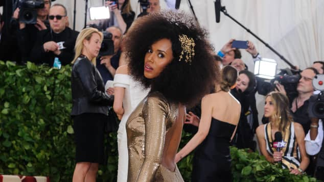 kerry washington; kerry washington met gala 2018